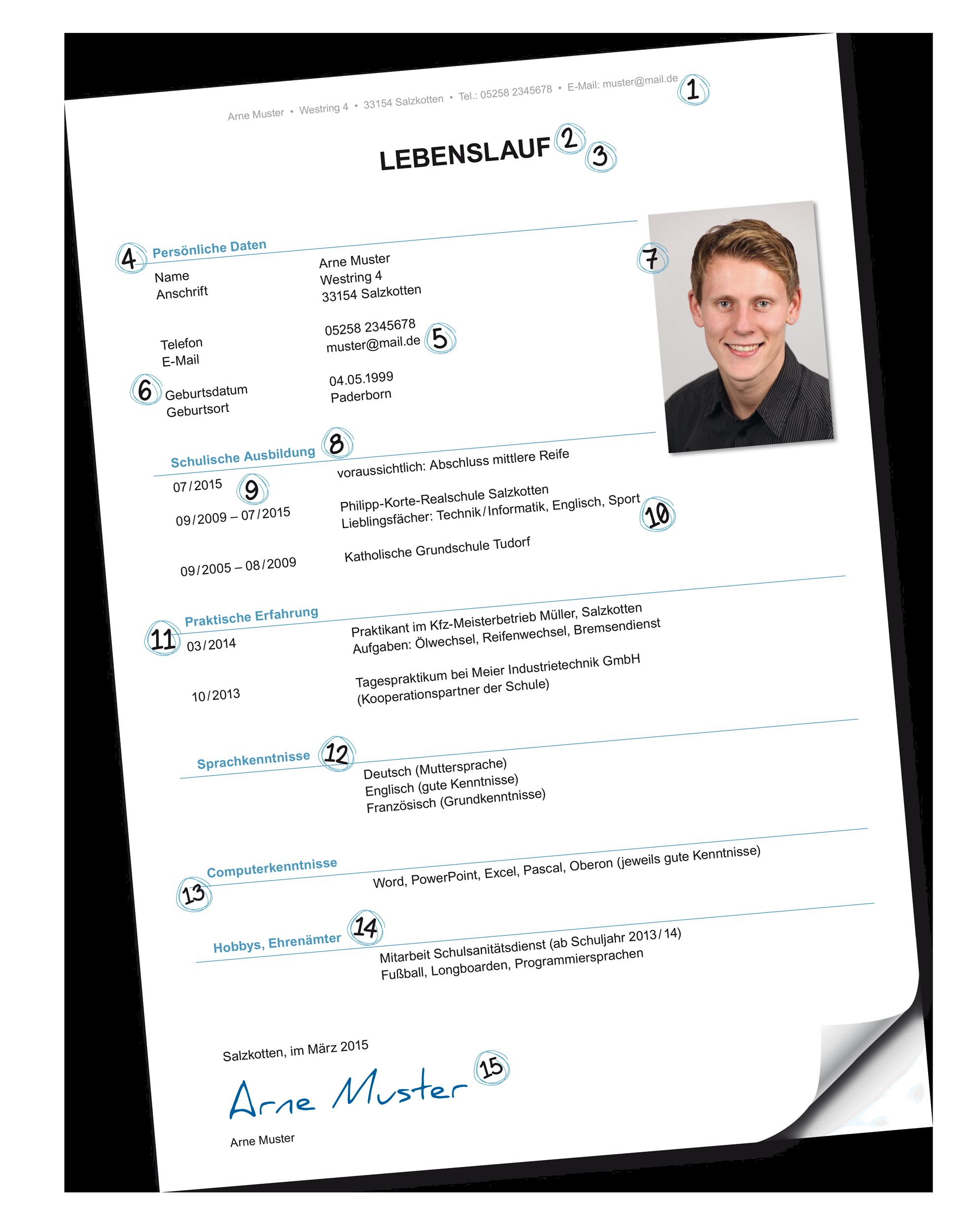 tl_filesausbildungsplatzimgredakteurmaterialnewsbilder im artikelbewerbungsspecial_lebenslaufpng - Lebenslauf Ausbildung